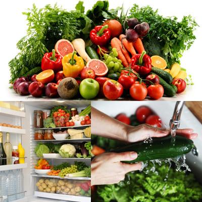 Как сохранить свежие фрукты и овощи?